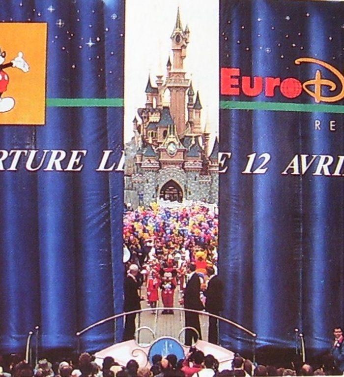 disneyland paris cérémonie ouverture