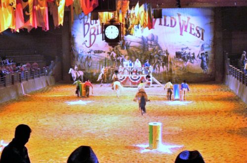 blog disney wild west show