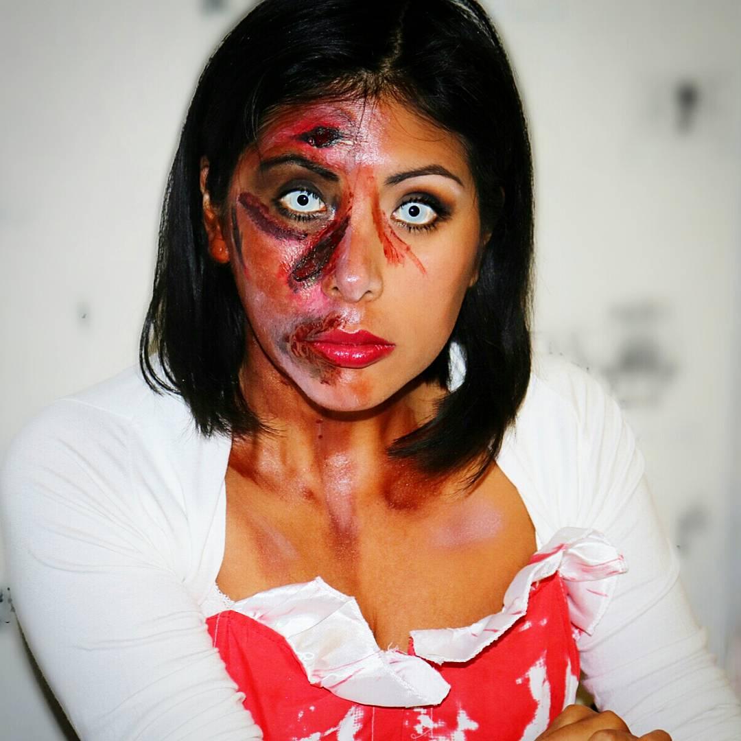 makeup halloween disney